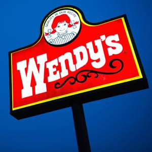 Wendy's Co. sign outside of a restaurant in Daly City, Calif. (David Paul Morris/Bloomberg via Getty Images)