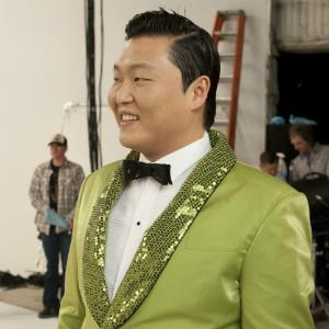 Korean pop star Psy. Image credit: Wonderful Pistachios/Susan Goldman