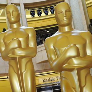 Image: File photo of Oscar statues at the Kodak Theatre in Hollywood, Calif. (© Mark Ralston/AFP/Getty Images)
