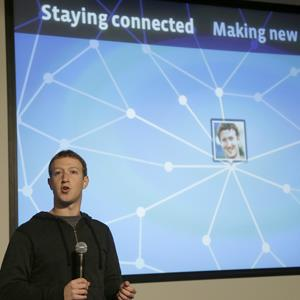Facebook CEO Mark Zuckerberg speaks about Facebook Graph Search on Tuesday, Jan. 15, 2013 (Jeff Chiu/AP Photo)