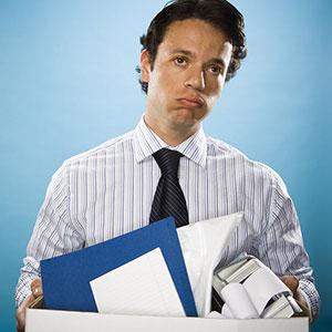 Image: Unemployed man (Rubberball/Jupiterimages)