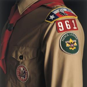 Boy Scout uniform (Stewart Cohen/Photolibrary/Getty Images)