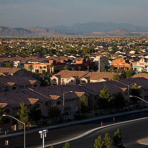 Image: The suburbs of Las Vegas -- Gerald Lord/fStop/Getty Images