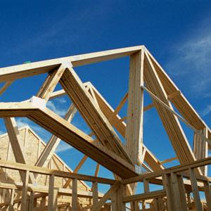 Home under construction -- Corbis