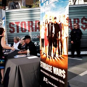 A&E's 'Storage Wars' Lockbuster Tour at Nokia Plaza L.A. LIVE on June 13, 2012 in Los Angeles, Calif. (Tibrina Hobson/Getty Images)