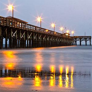 Morning at Surfside Pier -- Calvert Byam, Flickr, Getty Images