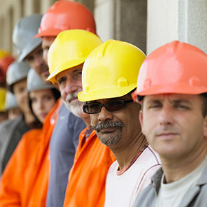 Image: Construction workers ( image100/Corbis)