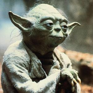 Credit: STAR WARS: EPISODE V - THE EMPIRE STRIKES BACK, Yoda, 1980 &#xA;Caption: Lucasfilms / courtesy Everett Collection