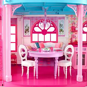 Barbie's Malibu dream house (Mattel Inc., http://www.trulia.com/barbie/)