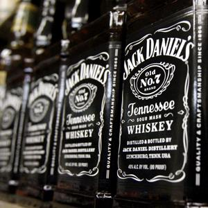 Bottles of Jack Daniel's Tennessee Whiskey at a liquor outlet in Montpelier, Vt. ( Toby Talbot/AP Photo)