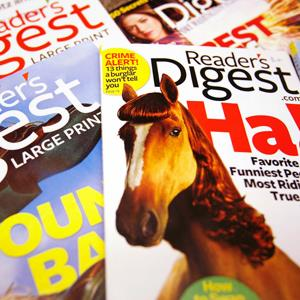 Copies of the Reader's Digest magazines (Shannon Stapleton/Newscom/Reuters)