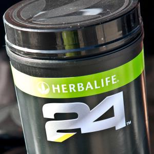 Credit: Tiffany Rose/WireImage/Getty Images&#xA;Caption: Herbalife product at the Nautica Malibu Triathlon