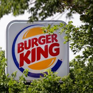 Credit: Michael Conroy/AP&#xA;Caption: A Burger King restaurant sign is shown in Indianapolis