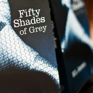'Fifty Shades of Grey' on display at a book shop in central London on July 19, 2012 ( WILL OLIVER/AFP/GettyImages)