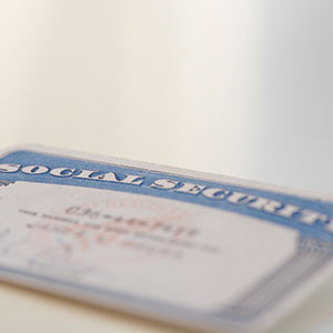 Image: Social Security Card (Tom Grill/Photographers Choice RF/Getty Images)