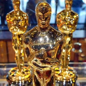 Oscar statuettes at Times Square Studios in New York City on Feb. 15, 2008 (&#169; REX Features)