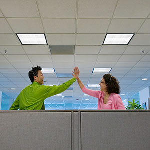Image: Office workers (&#169; ColorBlind Images/Blend Images/Corbis)