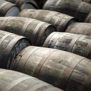 File photo of scotch whisky barrels (Mark Connelly/E+/Getty Images)