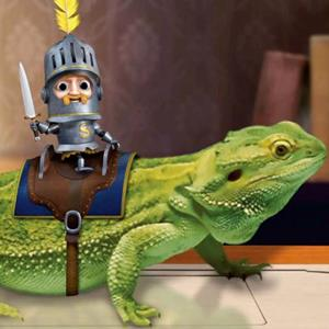 SPAM's animated Sir Can-A-Lot character (© Hormel Foods via PR Newswire)