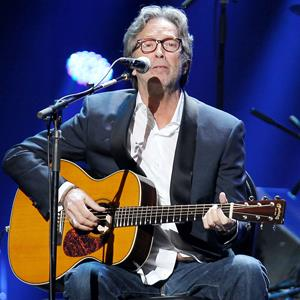 Eric Clapton performing at the 12-12-12 Concert for Sandy Relief at Madison Square Garden in New York on Dec. 12, 2012 (Dave Allocca/Starpix/AP Photo)