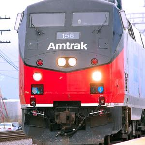 File photo of an Amtrak train in Norfolk, Virginia on Dec. 11, 2012 (© Abhi Ahmadadeen/Corbis)
