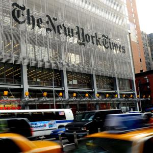 The New York Times building in Manhattan (© Sipa Press/Rex Features)