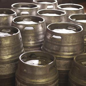 File photo of beer kegs (Monty Rakusen/Cultura/Getty Images)