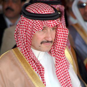 File photo of Saudi Prince Al-Waleed bin Talal in May 2009 (© YAHYA ARHAB/epa/Corbis)