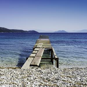 File photo of a beach in the Ionian Sea ( Peter Landon/Photographer's Choice/Getty Images)