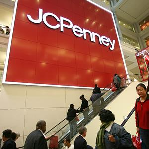 Shoppers at a J.C. Penney store in New York, NY on October 23, 2009 (Mark Lennihan/AP)