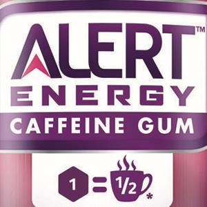 Wrigley Alert Energy Caffeine Gum (© Courtesy of Wrigley)