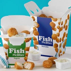 McDonald's Fish McBites (Courtesy of McDonalds)