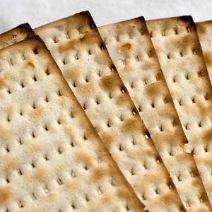 File photo of matzo in Concord, N.H. Matzo on March 18, 2008 (Larry Crowe/AP)