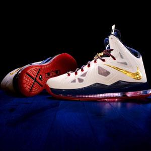 Credit: HANDOUT/Newscom/RTR/ReutersCaption: Handout photo of the LeBron X shoe