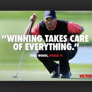 Nike ad featuring Tiger Woods (Courtesy of Nike via Facebook)