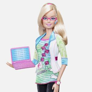 Computer Engineer Barbie (WENN.com)