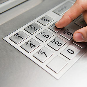 Bank ATM (copyright Image Source/Corbis/Corbis)