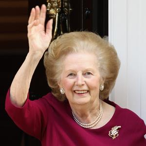 File photo of former British Prime Minister, Margaret Thatcher, in November 2010 in London, England ( Dan Kitwood/Getty Images)