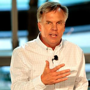 File photo of Ron Johnson, CEO of JC Penney, in Dallas on Sept. 10, 2012 ( Brandon Wade/Invision for JCPenny /AP Images)