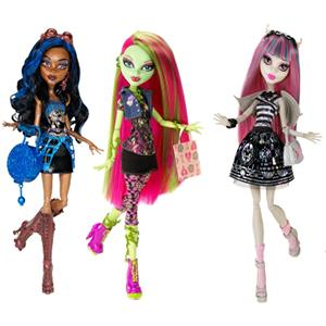 Monster High dolls by Mattel (© Mattel, Inc.)