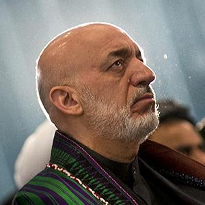 File photo of Afghan President Hamid Karzai on March 23, 2013 (© Anja Niedringhaus/AP Photo)