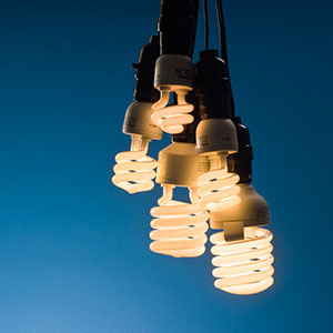 Image: Flourescent lightbulbs (© Ted Dayton Photography/Beateworks/Corbis)
