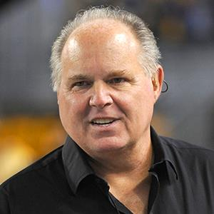 File photo of radio talk show host and political commentator Rush Limbaugh at Heinz Field on November 14, 2010 in Pittsburgh, Pennsylvania (© George Gojkovich/Getty Images)
