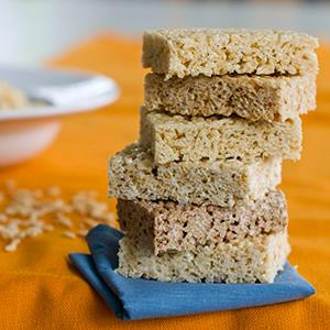 File photo of Rice Krispies Treats made with various rice cereal, including Kellogg's Gluten-Free Rice Krispies, taken on Sept. 10, 2012 (© Matthew Mead/AP)