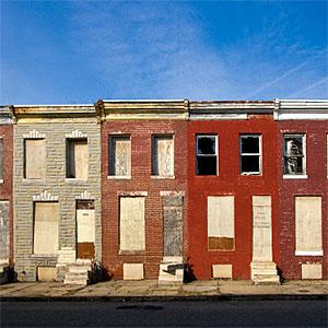Abandoned Rowhouses (© Kevin B. Moore, Flickr, Getty Images)