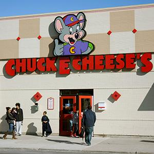 File photo of a Chuck E Cheese's restaurant (© Helen Sessions/Alamy)