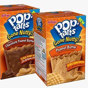 Kellogg's Pop-Tarts 'Gone Nutty!' Toaster Pastries (© PRNewsFoto/Kellogg Company)
