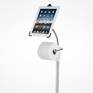 iPad Commode Caddy (© Hammacher Schlemmer)