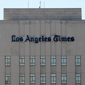The Los Angeles Times building on June 7, 2012 in Los Angeles, Calif. (© Kevork Djansezian/Getty Images)