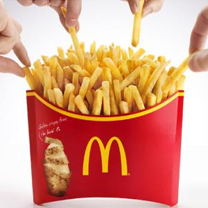 "2013 McDonald's -- ""Mega Potato"" French Fries"